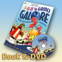 Fun'n Games Galore Book & DVD