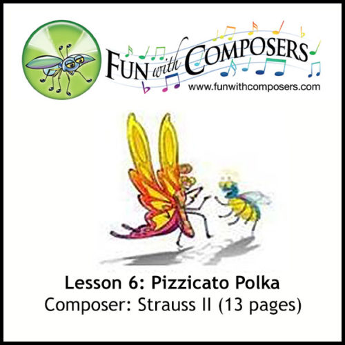 Fun with Composers - Pizzicato Polka (Strauss II)