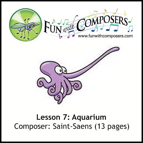 Fun with Composers - Aquarium (Saint-Saens)