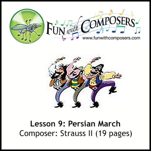 Fun with Composers - Persian March (Strauss II)