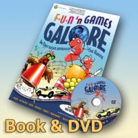 Fun'n Games Galore Book & DVD