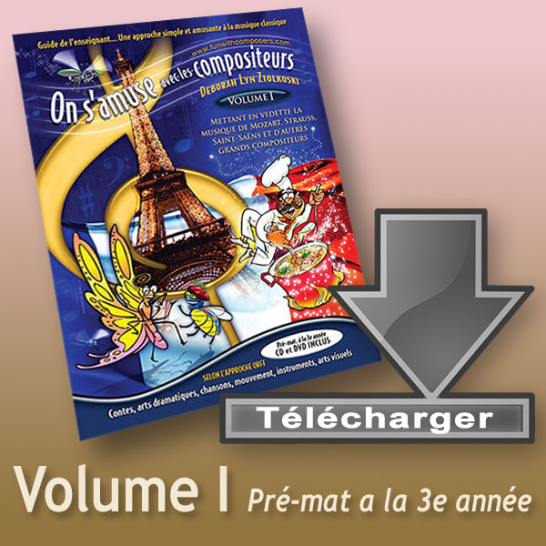 French Supplement: Teacher's Guide – Volume I: (PreK-Gr. 3)