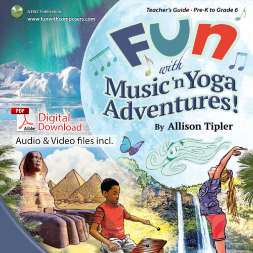 Fun with Music'n Yoga Adventures!