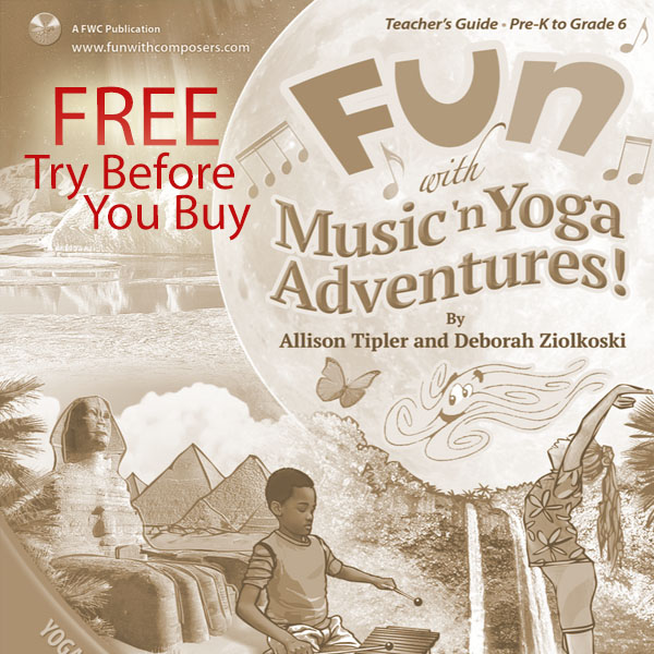 FUN with Music 'n Yoga Adventure – FREE