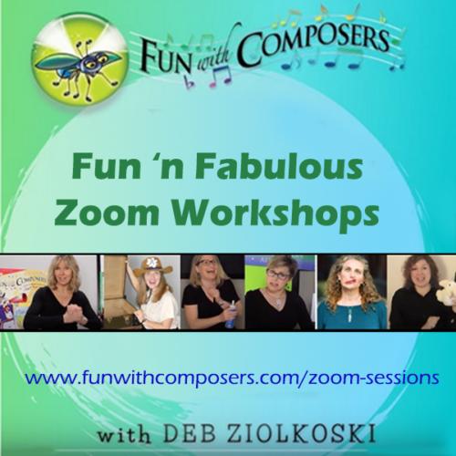 Fun'n Fabulous Zoom Workshops
