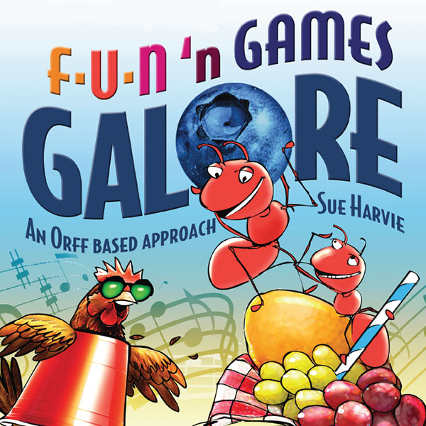 Fun'n Games Galore by Sue Harvey