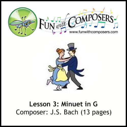 Fun with Composers - Minuet in G (Bach)