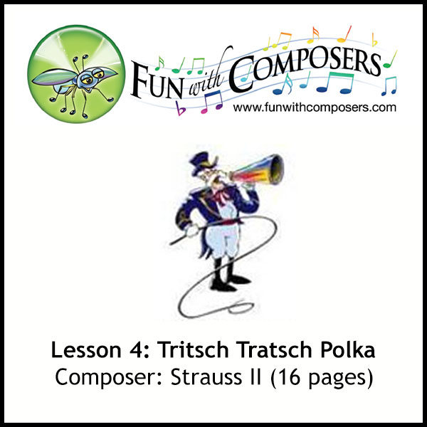 Fun with Composers - Tritsch Tratsch Polka (Composer: Strauss II)