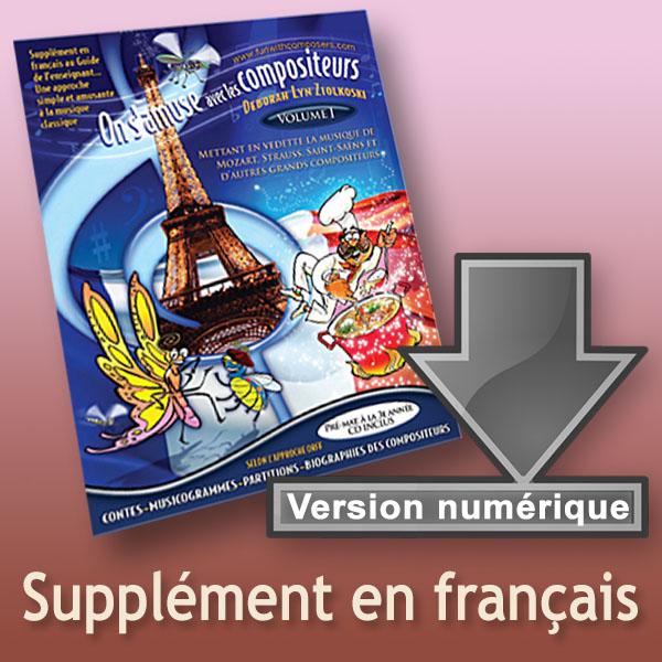 Supplément en français du Guide de l'enseignant Vol I