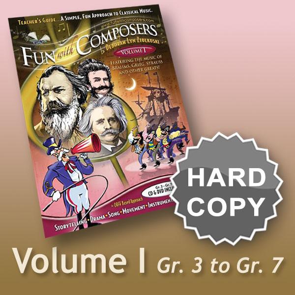 Teacher's Guide, Volume I – Gr. 3 – Gr.7 Hard Copy