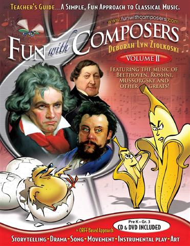 Fun with Composers Teacher Guide Pre K to Grade 3